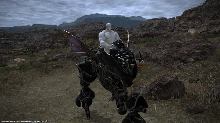 魔導アーマーを乗りこなすハゲルガ先生